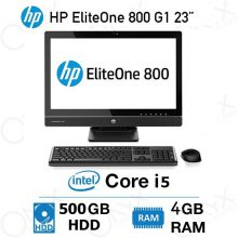 خرید کامپیوتر اچ پی HP EliteOne 800 G1 Core i5 4GB 500GB Intel All-in-One PC