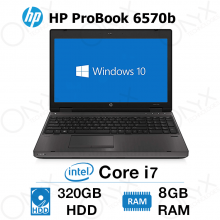 HP ProBook 6570b Intel Core7 8GB 320GB  Stock Laptop