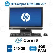 ال این وان HP Compaq Elite 8300 Core i5 8GB 240GB Intel All-in-One PC