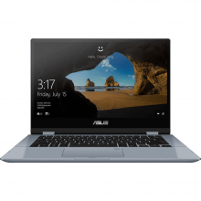 لپ تاپ ایسوس مدلASUS VivoBook Flip TP412UA Core i3 4GB 128GB SSD Intel Touch Laptop