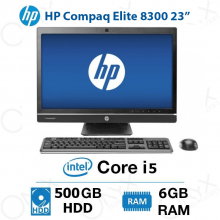 ال این وان HP Compaq Elite 8300 Core i5 6GB 500GB Intel All-in-One PC