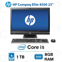 ال این وان HP Compaq Elite 8300 Core i5 8GB 1TB Intel All-in-One PC