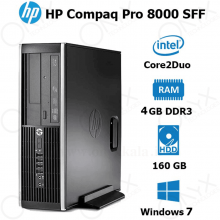 HP Compaq 8000 Elite Core2Duo 4GB 160GB Intel  Desktop Computer