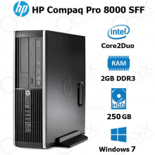 HP Compaq 8000 Elite E8400 2GB 250GB Intel Stock Desktop Computer